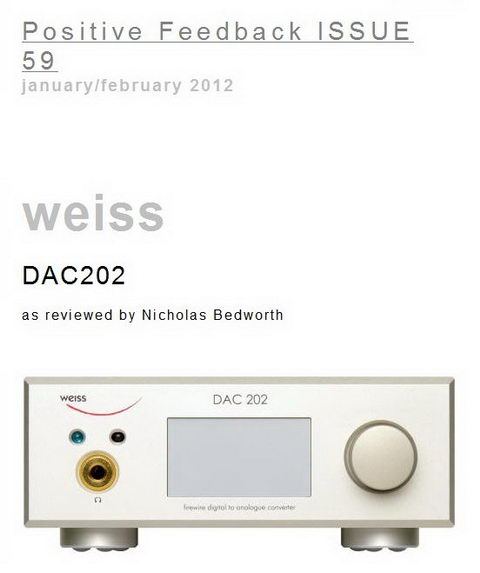 Positive Feedback Issue 59 Review DAC202