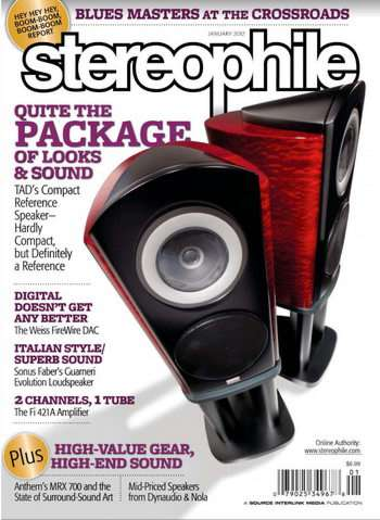 DAC202 Review in Stereophile Jan 2012